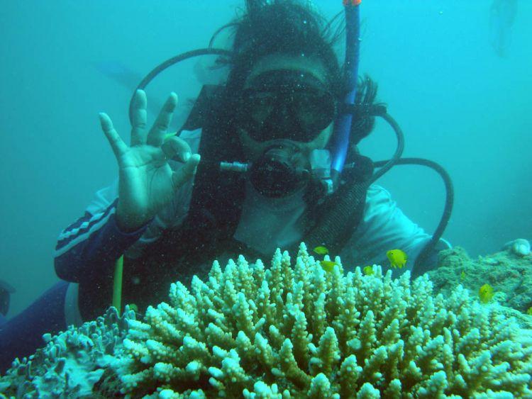 snorkeling di Teluk Kilauan