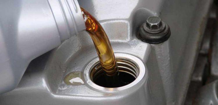 Ganti oli secara rutin