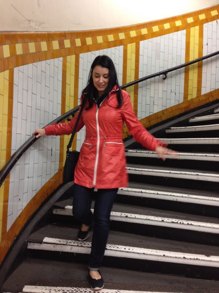Biar flu mu tak makin parah, jangan sering-sering pegang tangga