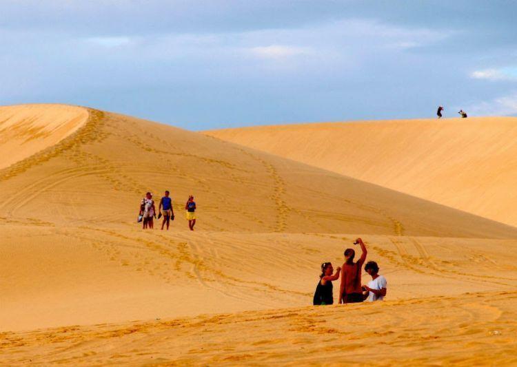 Sand Dunes di Vietnam