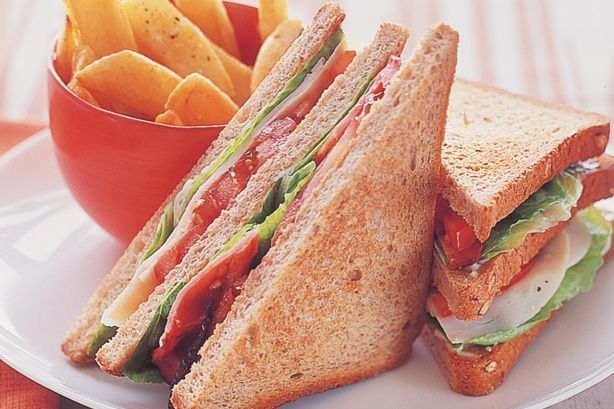 Sandwich sayur roti tawar