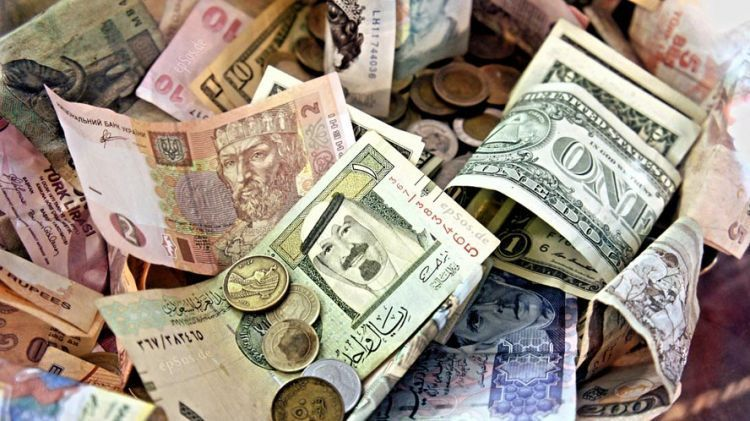 Nyimpen mata uang asing