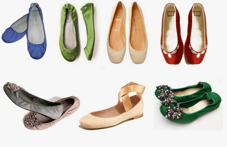 Flat shoes dibersihkan sesuai dengan jenis bahannya