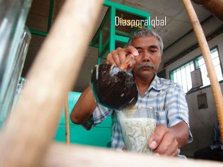 penjual dawet ayu khas Banjarnegara