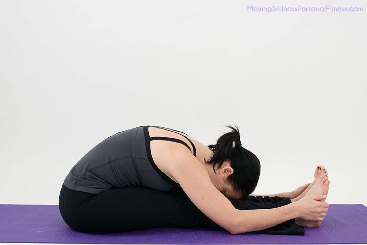Menghilangkan pertu buncit dengan yoga