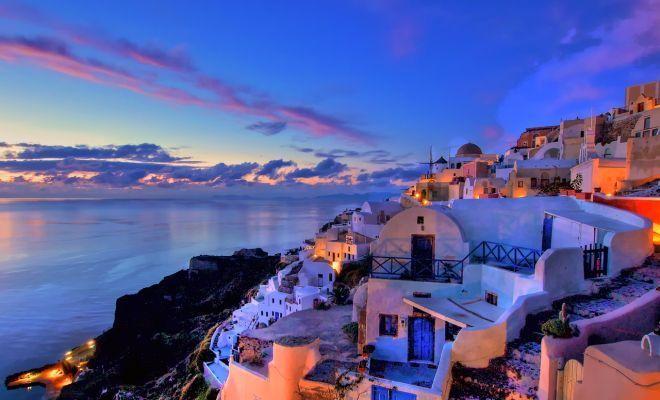 Keindahan Yunani bisa di nikmati sembari bulan madu