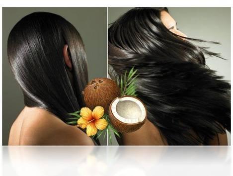 Santan kelapa sangat bermanfaat bagi rambut