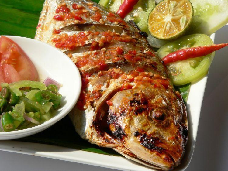 Cita rasa pedas menjadi khas masakan Manado