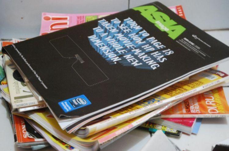 Kumpulin majalah yang usianya sudah tahunan