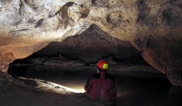 Salah satu wisata gua di Grobogan