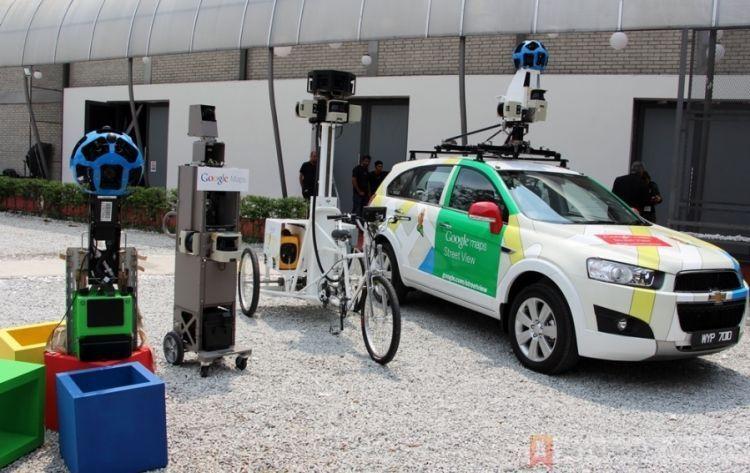 Mobil google streetview