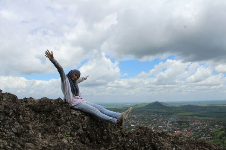 Pemandangan dari Bukit Gantole