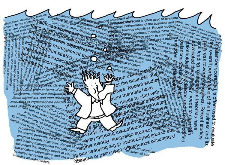 Tenggelam dalam arus informasi