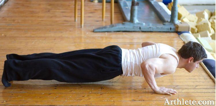Kuatkan otot tangan dengan push up