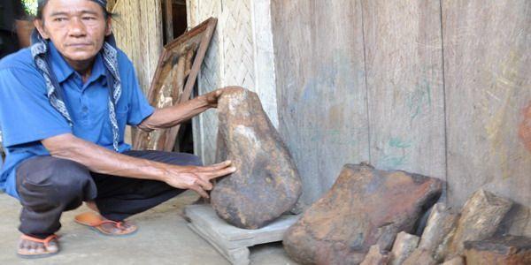 Fosil-fosil yang ditemukan di Semedo