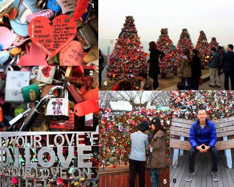 Kaitkan gembok cintamu di Seoul