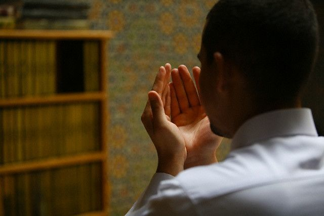 Berdoa dulu biar lancar