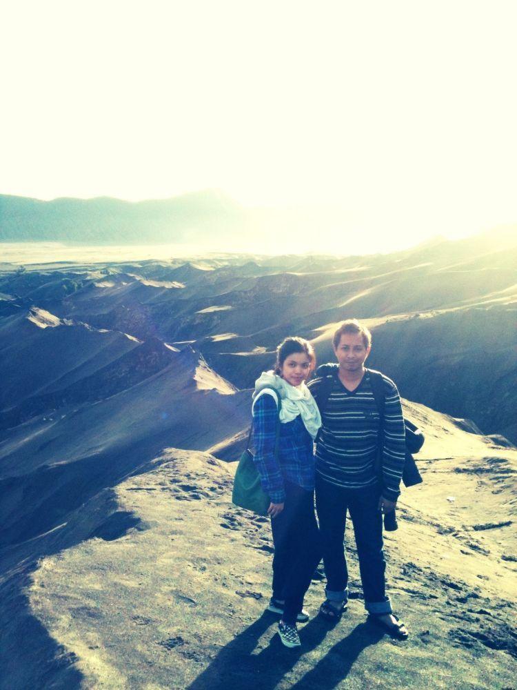 puncak gunung dan nirwana