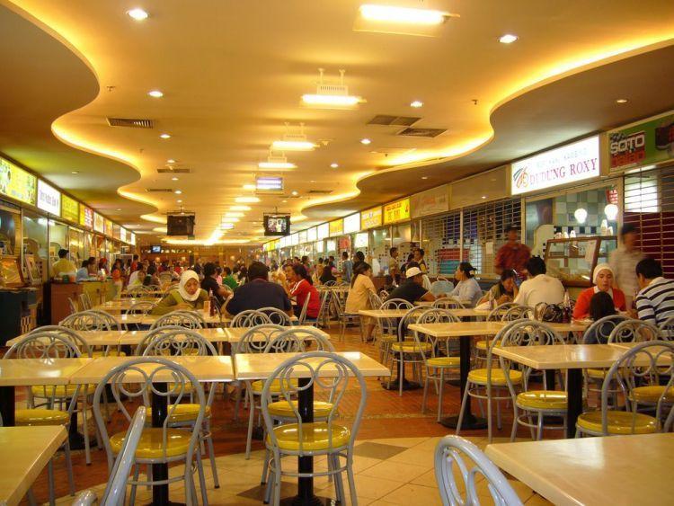Food court bikin kamu fokus