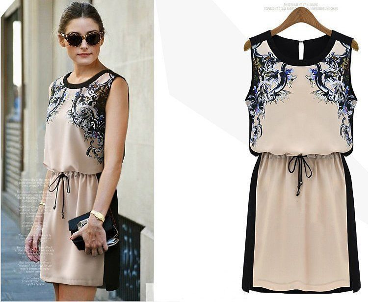 Dress feminin dan chic