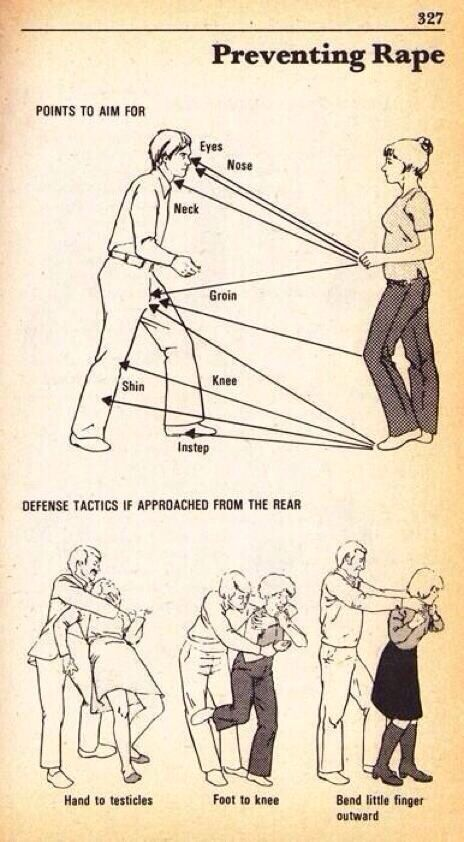 Teknik dasar penyelamatan diri untuk cewek