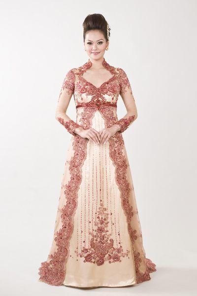 Gaun pengantin indah dan cantik