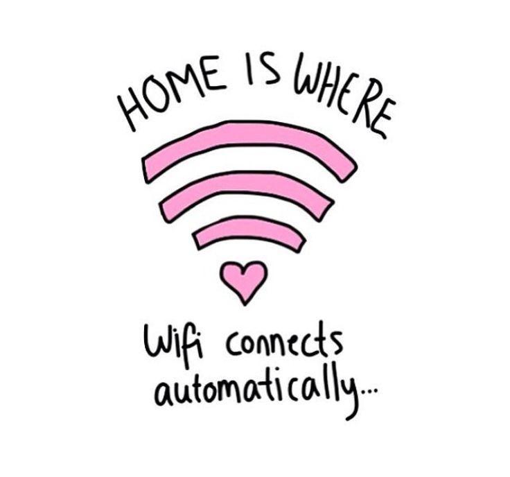 Selama ada WiFi, aman dunia