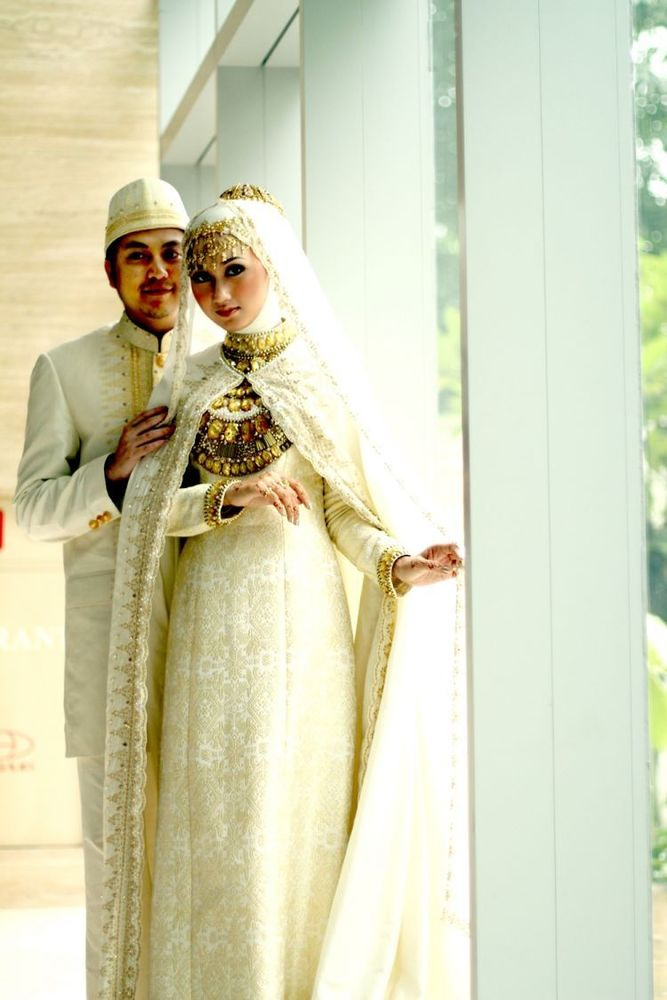 Gaun pernikahan unik dan cantik