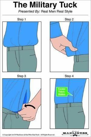 Singkirkan lecek dengan cara simpel