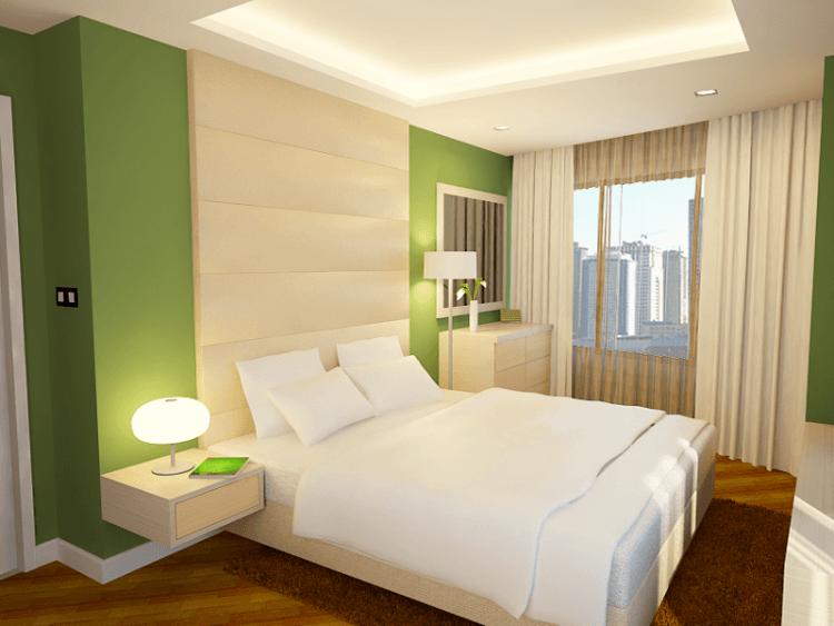 Kamar tidur yang simple