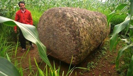 Salah satu foto batu dari zaman megalitikum