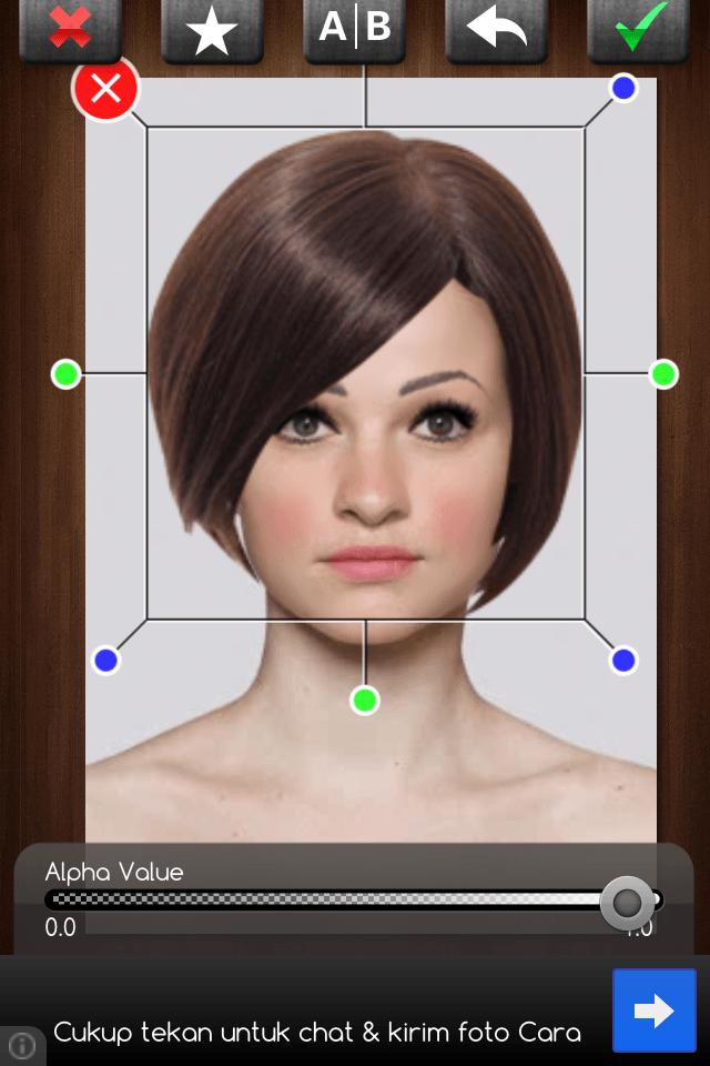 Cantik menurut aplikasi