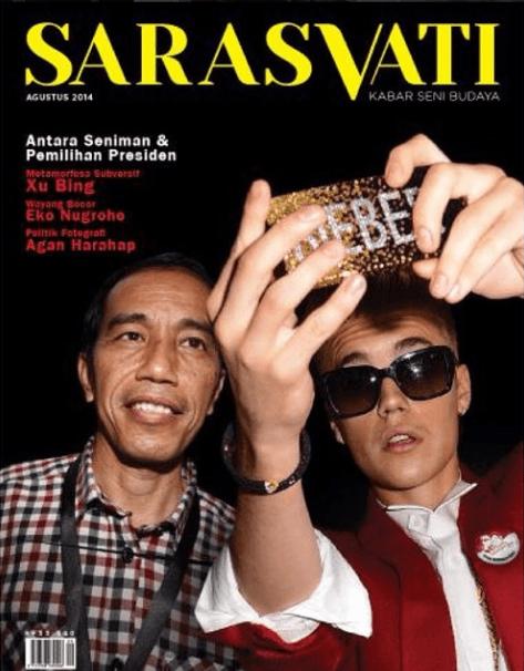 Bieber aja selfie sama Jokowi