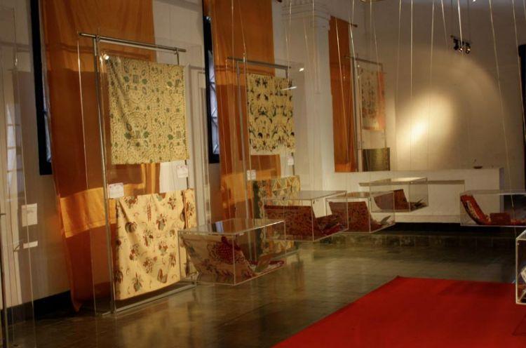Salah satu sudut Museum Batik Pekalongan