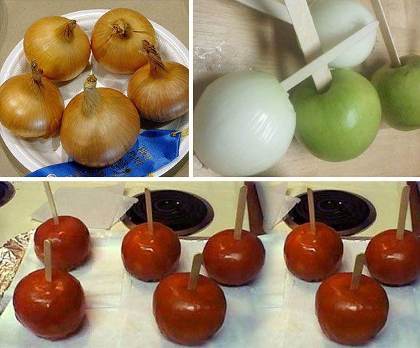 Apel palsu untuk dari bawang bombay