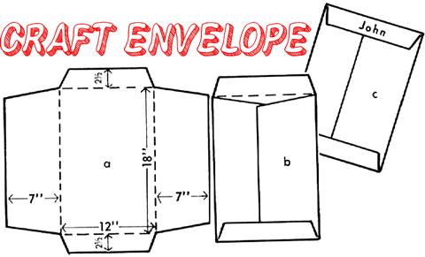 Cara membuat amplop