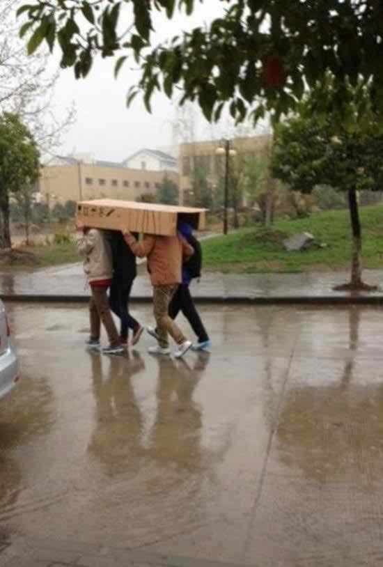 Cara saat hujan ala anak kos