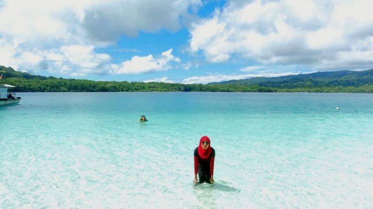 Pantai Pulau Peucang, Taman Nasional Ujung Kulon