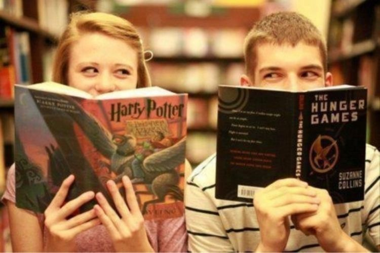 Baca buku-buku yang belum kamu baca.