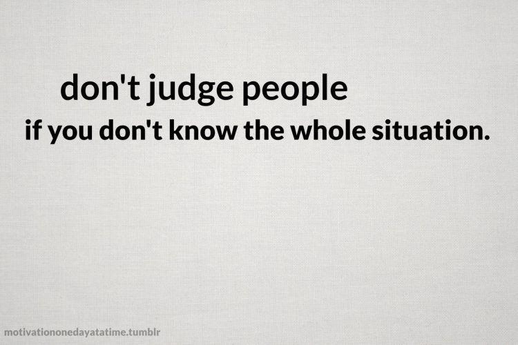 jangan suka judge