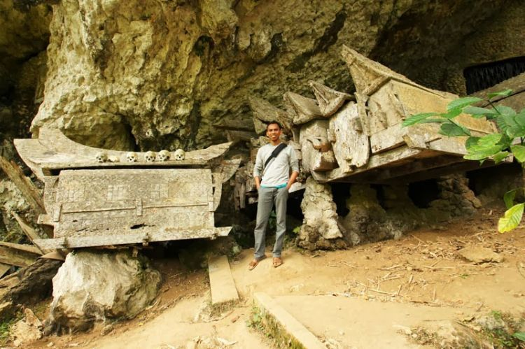 Makam Kete Kesu di Tanah Toraja