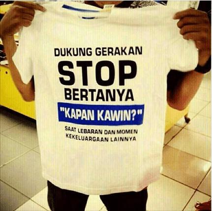 Stop nanya-nanya!