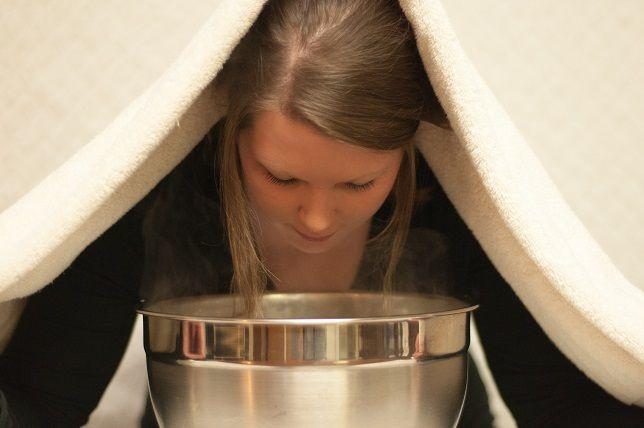 Face steaming untuk membuka pori-pori
