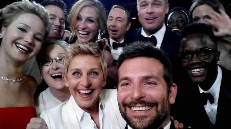 Selfie terbaik di Oscar