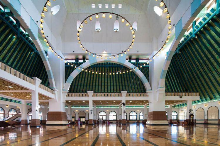 Interior Masjid Agung Jawa Tengah