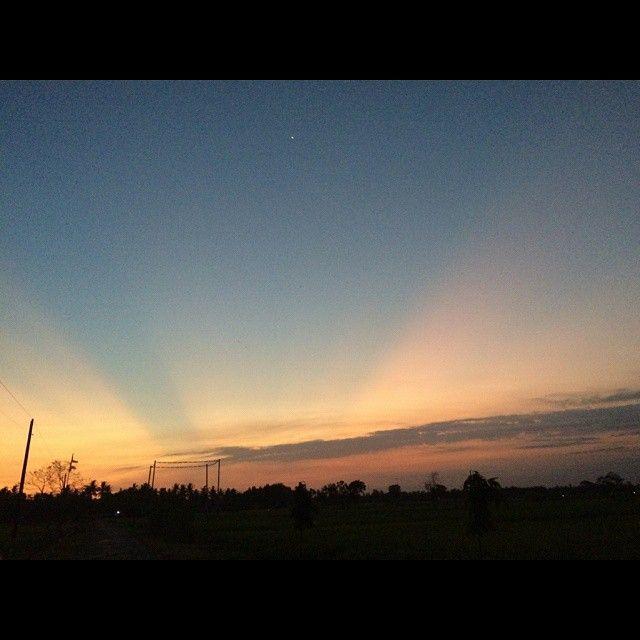 Langit lembayung