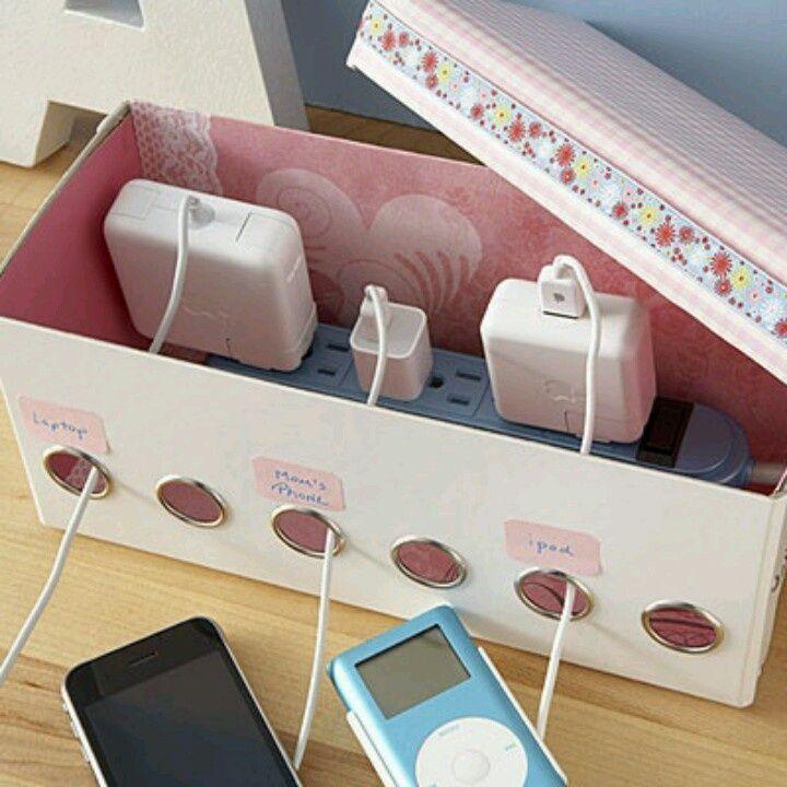 Gunakan sebagai tempat charger gadget