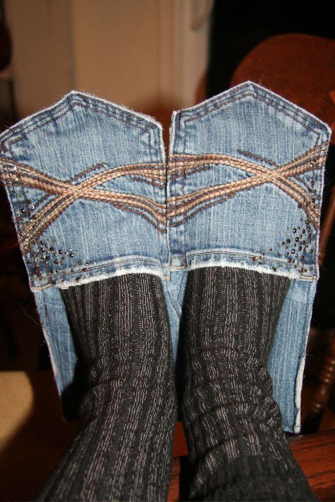 Sandal jeans untuk dipakai di dalam rumah