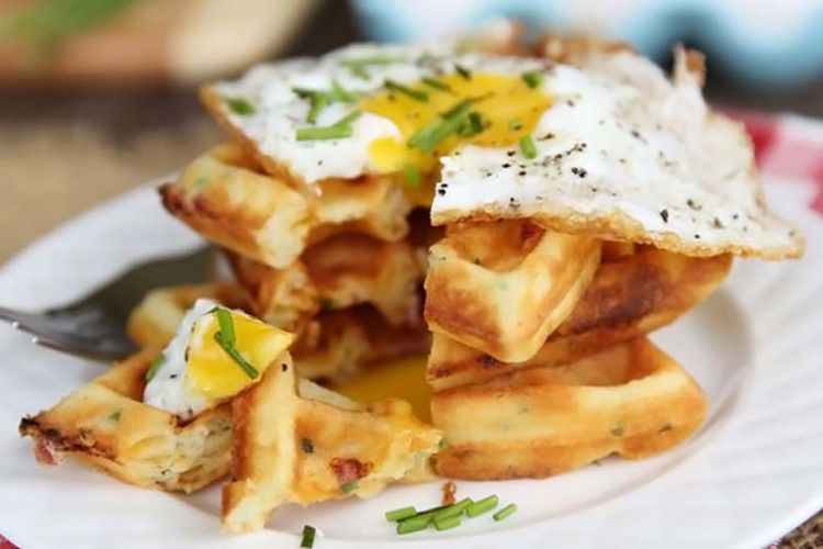 Ham-and-Cheddar-Waffles-with-Fried-Egg-from-Our-Best-Bites1-590x393