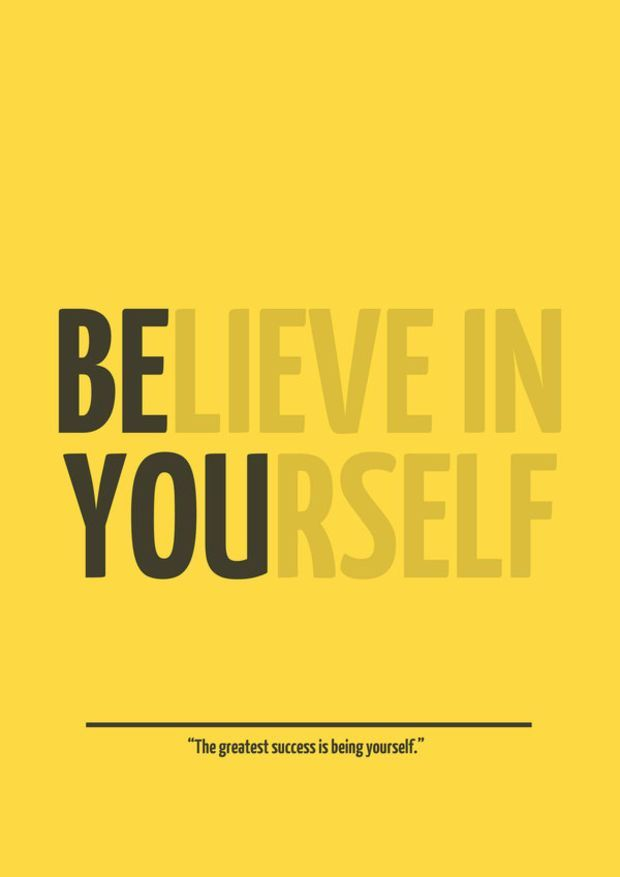 BE YOU